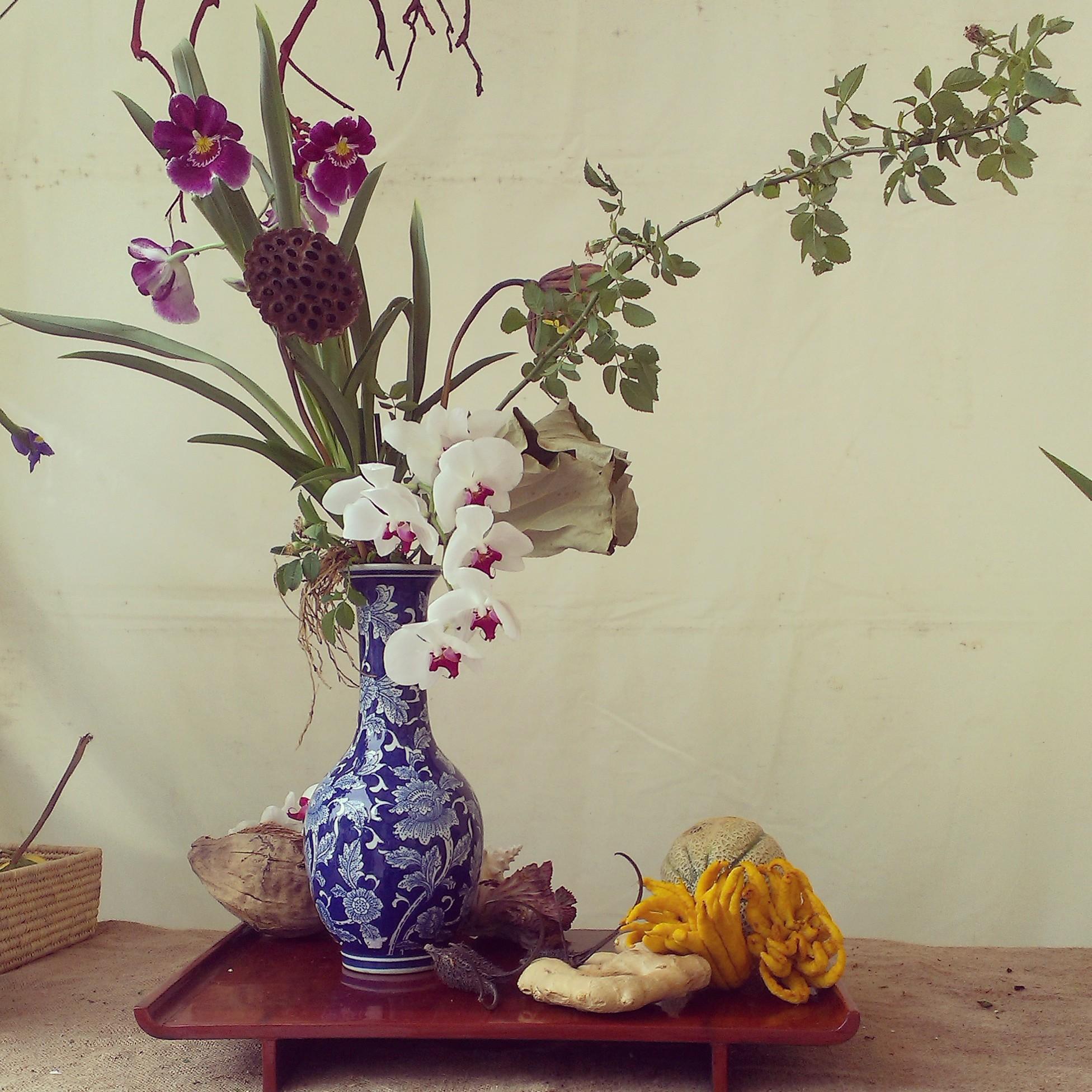 Ikebana a Giardini e Terrazzi 2014