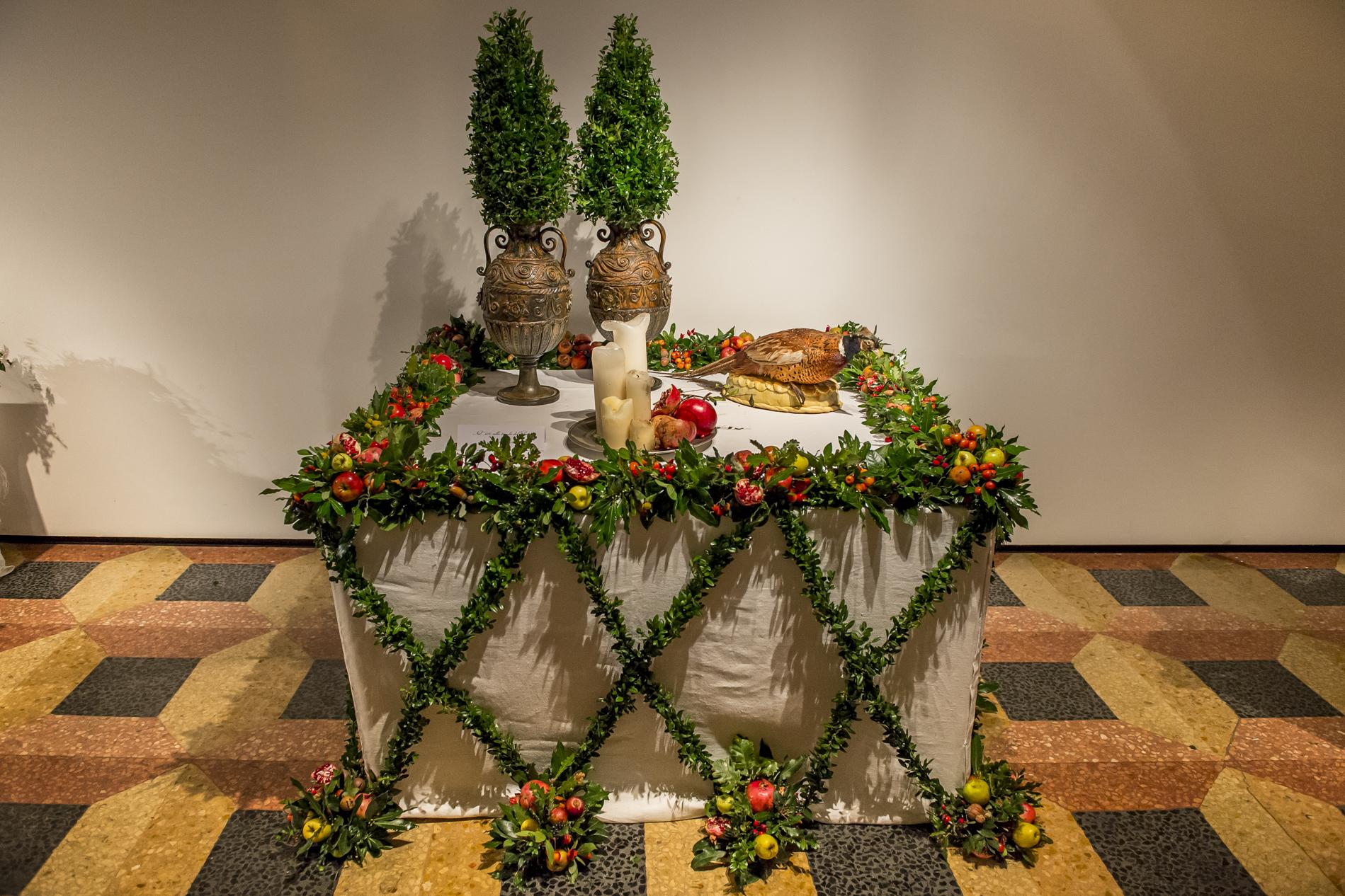 Nel 400 alla Tavola del Duca - Fiori in tavola attraverso i secoli, 2014
