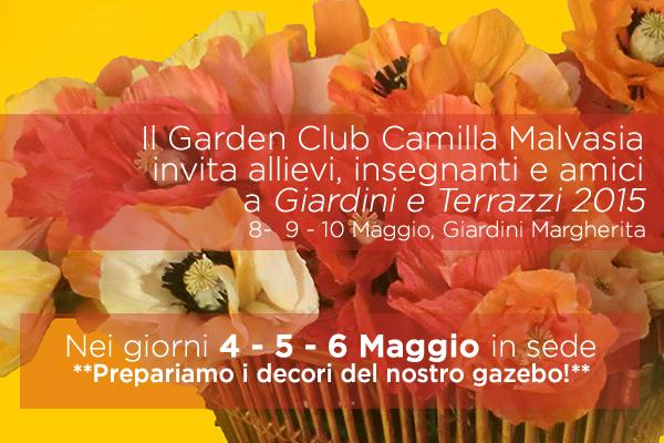 Il Garden Club di Bologna a Giardini e Terrazzi 2015
